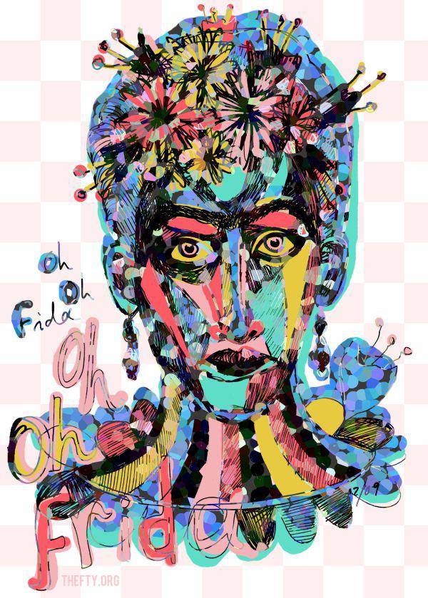 Helena-Maratheftis-Frida-pointillize-600